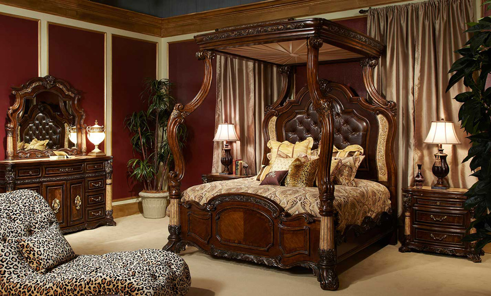 Amazing Bedroom By Michael Amini (View 7 of 10)
