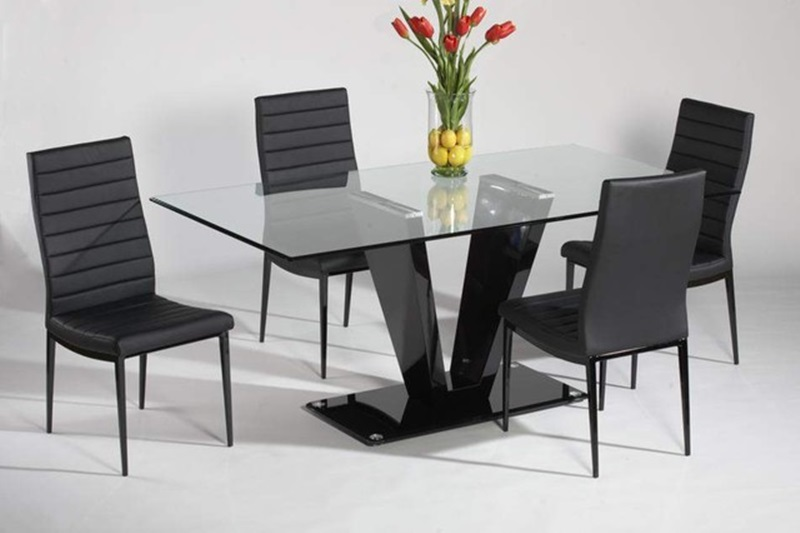 Amazing Fresh Glass Dining Table (Image 2 Of 11)