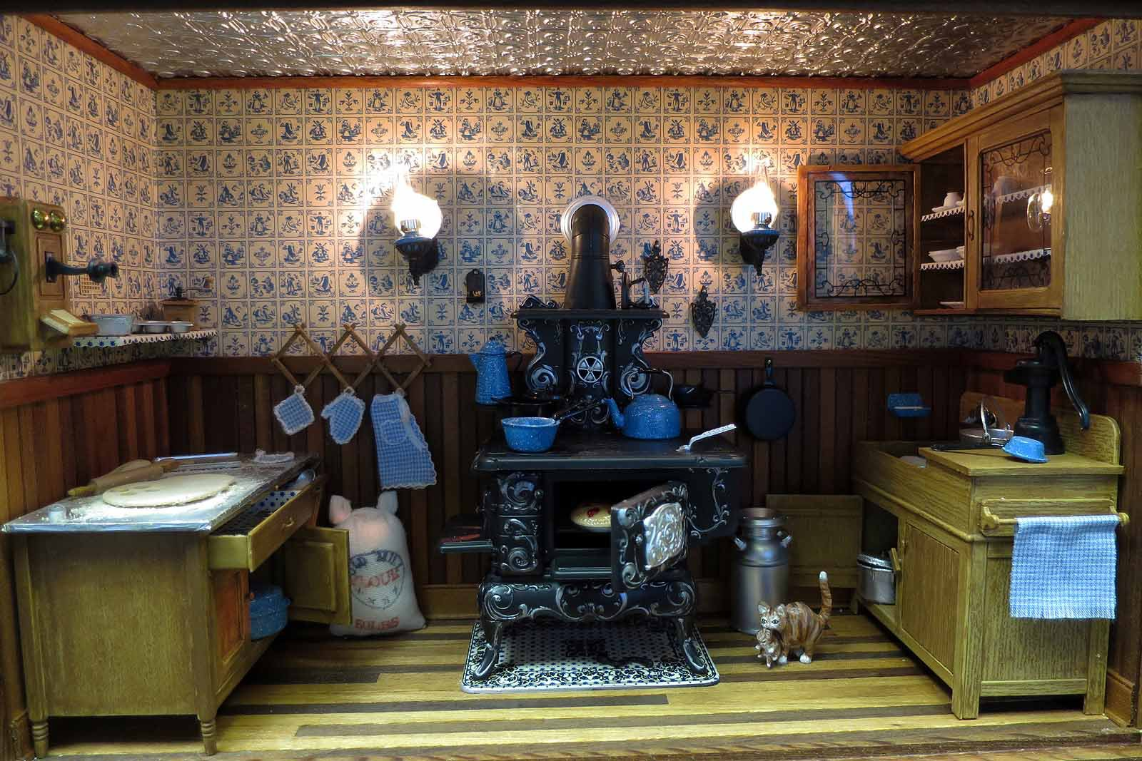 Amazing Victorian Kitchen Decoration (Image 1 of 18)