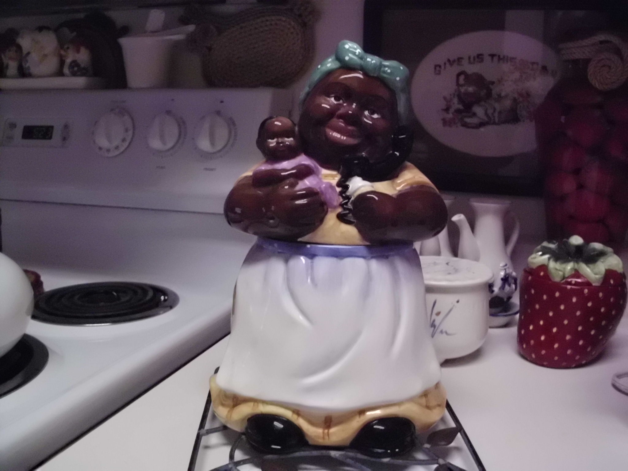 Antique Vintage Cookie Jars Aunt Jemima Kitchen Decor (Image 1 of 10)