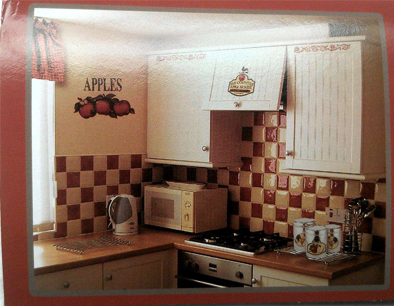 Apple Theme Rooster Kitchen Design