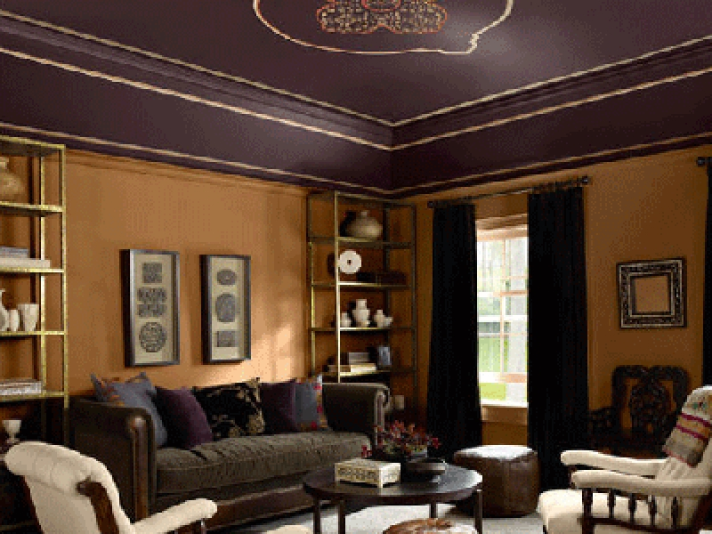 Beautiful Ceiling Paint Ideas (Image 2 of 10)
