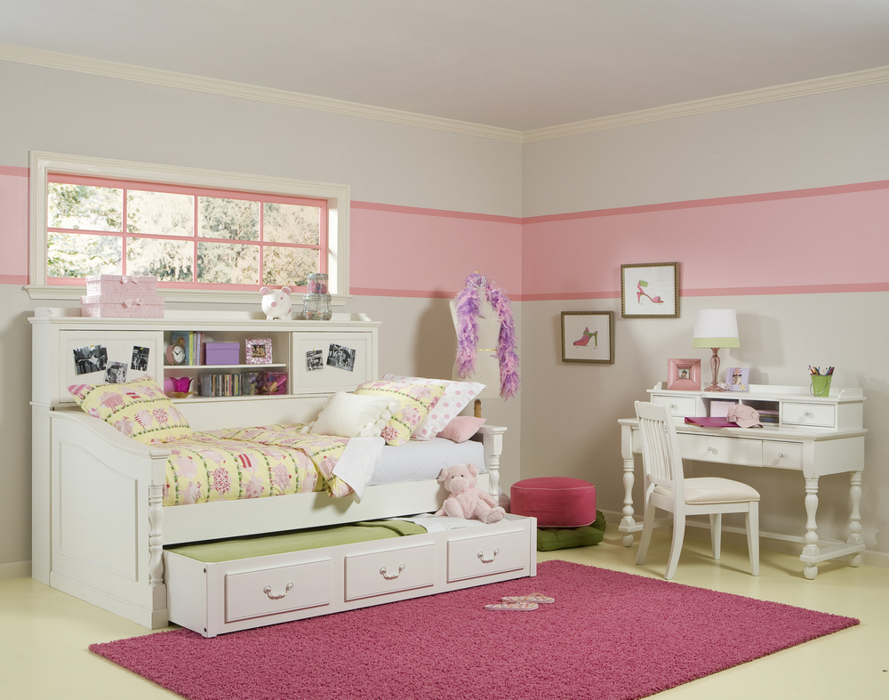 Beautifull Bedroom for Twin Girls Decoration Sets and Furniture