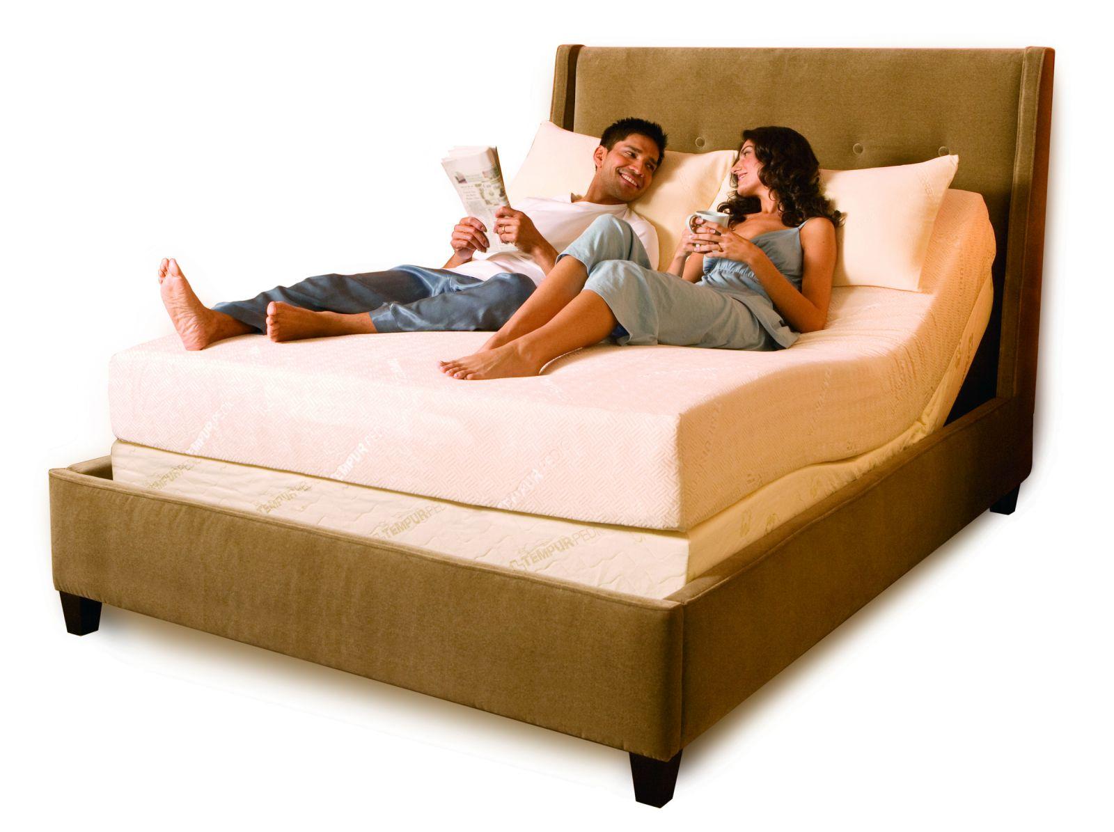 Beauty Adjustable Bed Frame (Image 2 of 10)
