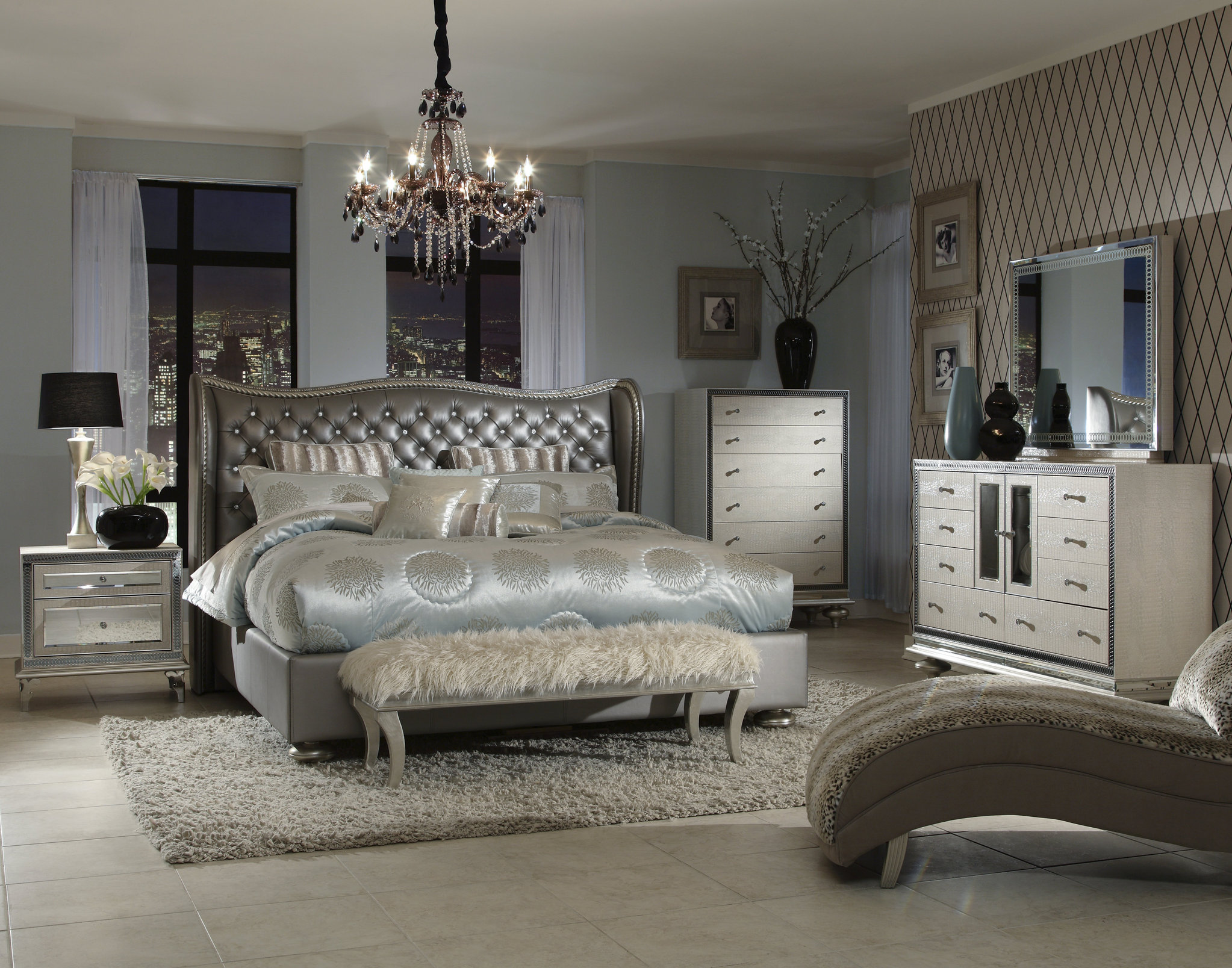 Bed Silver Design