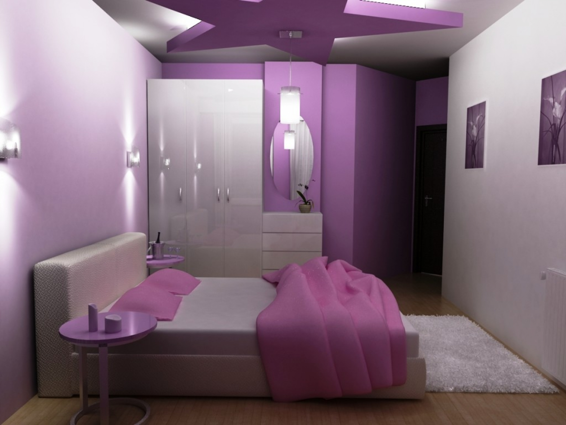 Big Star Ceiling Paint Ideas (Image 3 of 10)