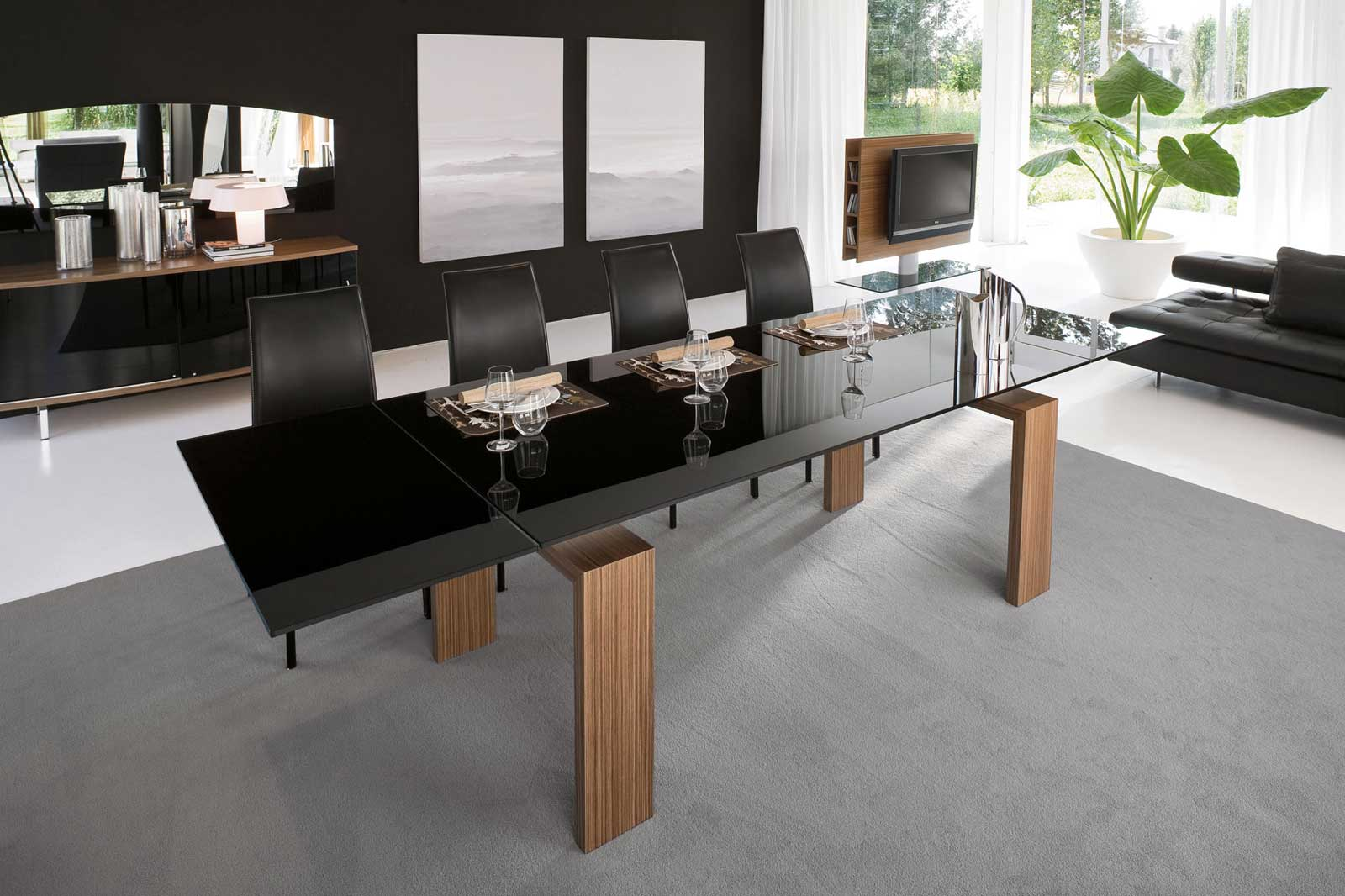 Black Dining Room Furniture (View 1 of 11)