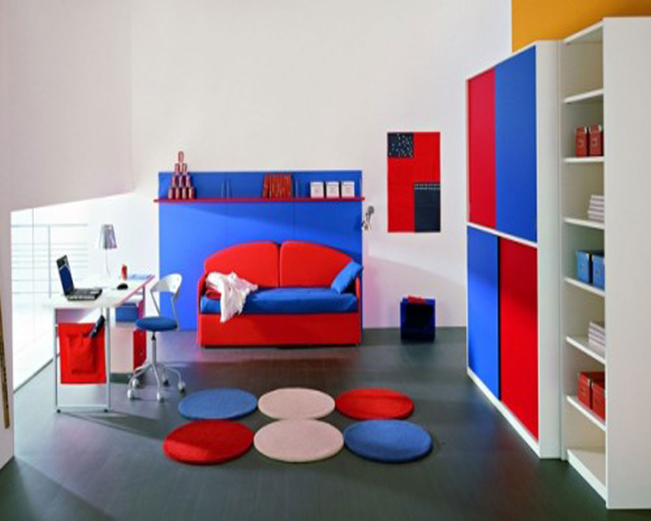 Boy Room Design Minimalist Modern