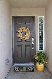 Brown Painting Exterior Door (View 3 of 10)