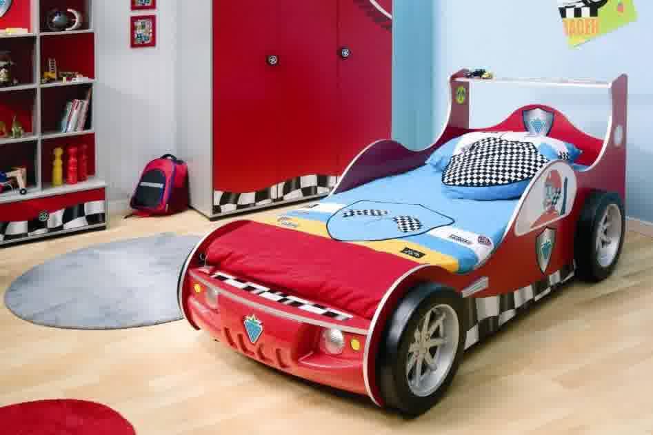 Car Race Kids Bedroom Furniture