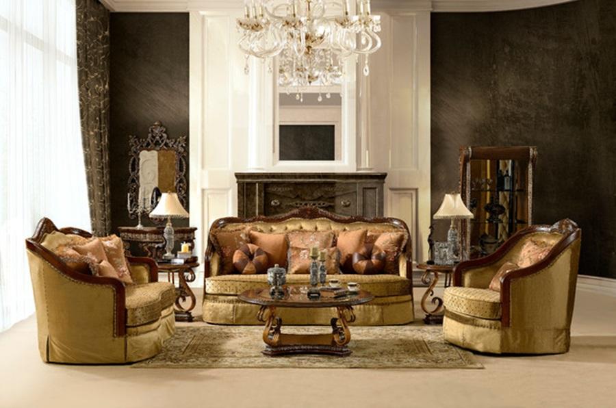 Chocolate Sofa Set (View 7 of 18)