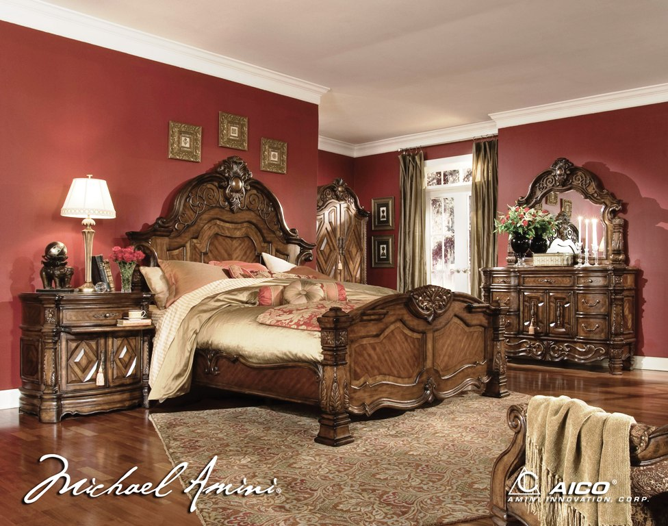 AICO Bedroom Furniture By Michael Amini Custom Home Design