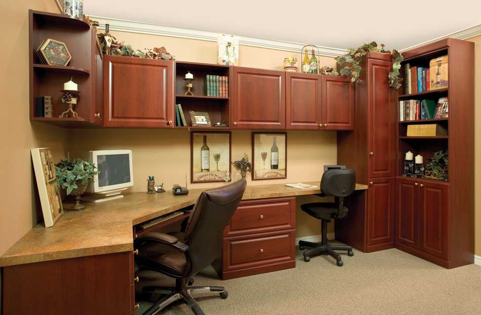 Classy Office Room In Home Decorating Ideas