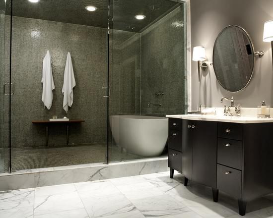 Contemporary Design Shower Room Ideas (Image 2 of 10)