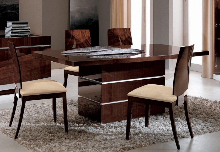 Contemporary Dining Table Design (Image 5 of 11)