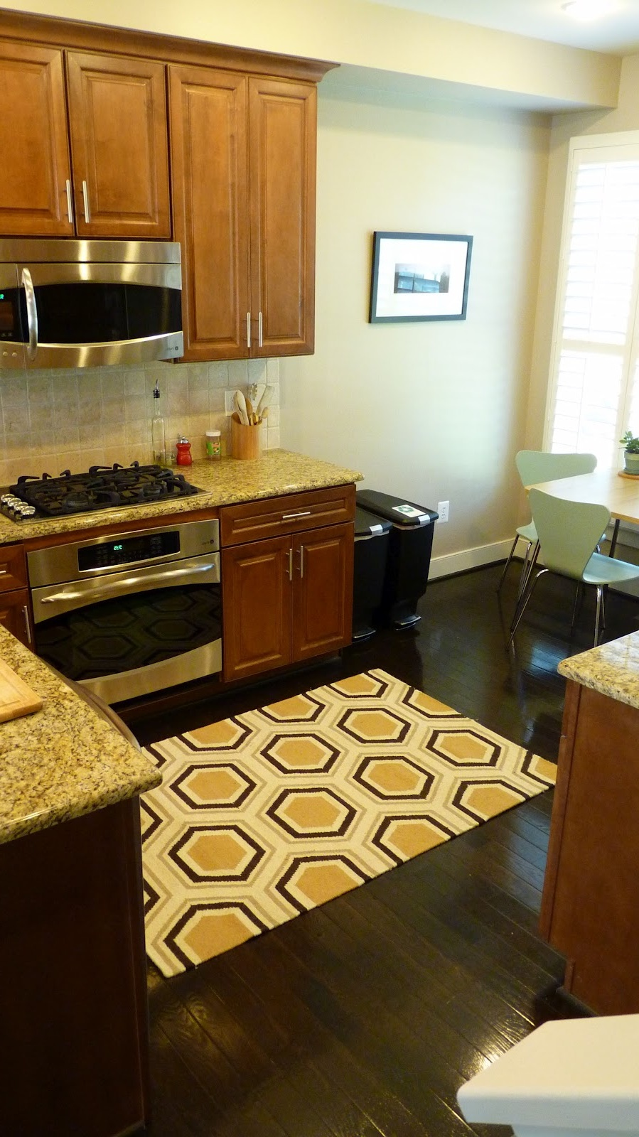 Contemporary Kitchen Rugs For Hardwood Floor (Image 1 of 5)
