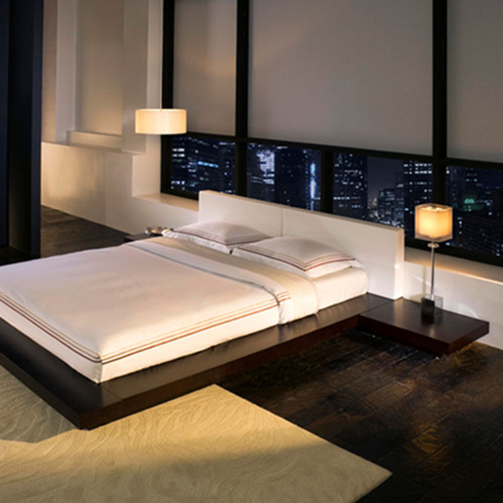 Cool And White Bedroom (View 7 of 22)