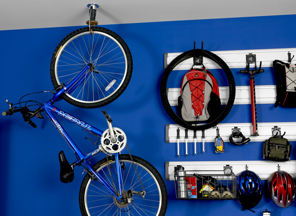Featured Photo of Magnificent Bike Storage Area Attached On The Wall