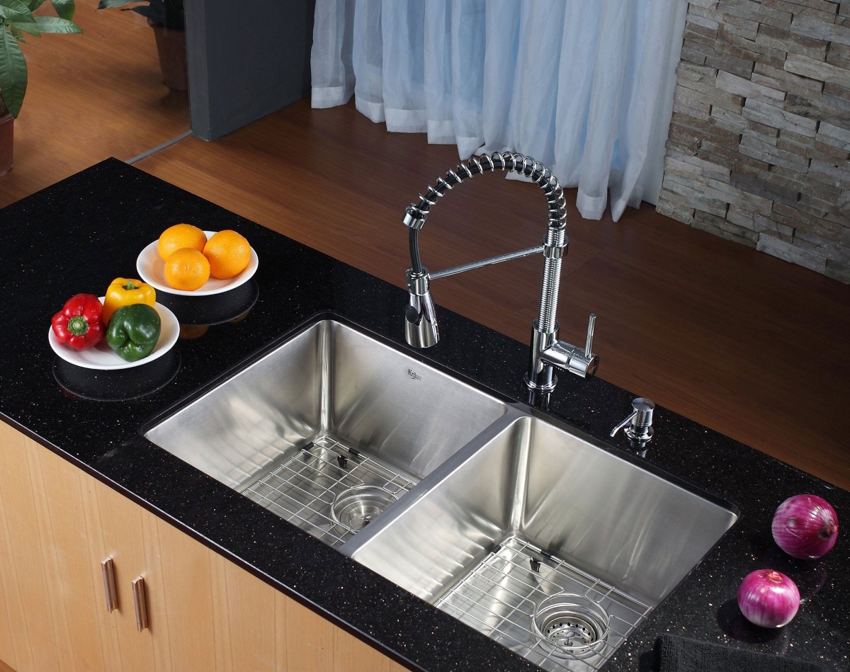 Modern Undermount Kitchen Sinks - Cool modern undermount sink design image 2 of 10