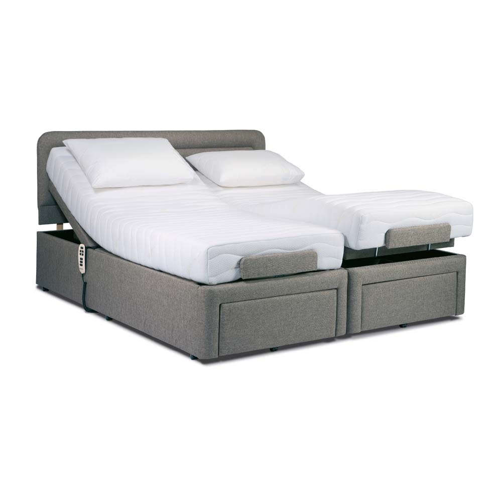Couple Adjustable Bed Frame (Image 6 of 10)