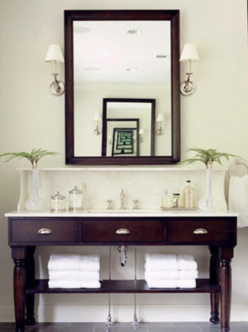 Couple Bathroom Vanity Furniture (Image 5 of 17)