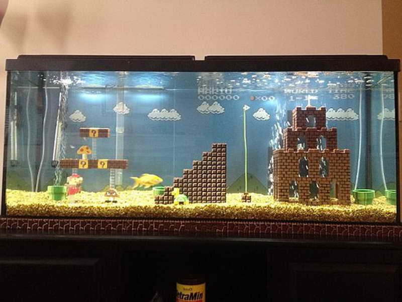Creative Aquarium For Living Room (View 1 of 21)