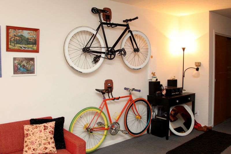 Creative Bike Storage Indoor Design Ideas