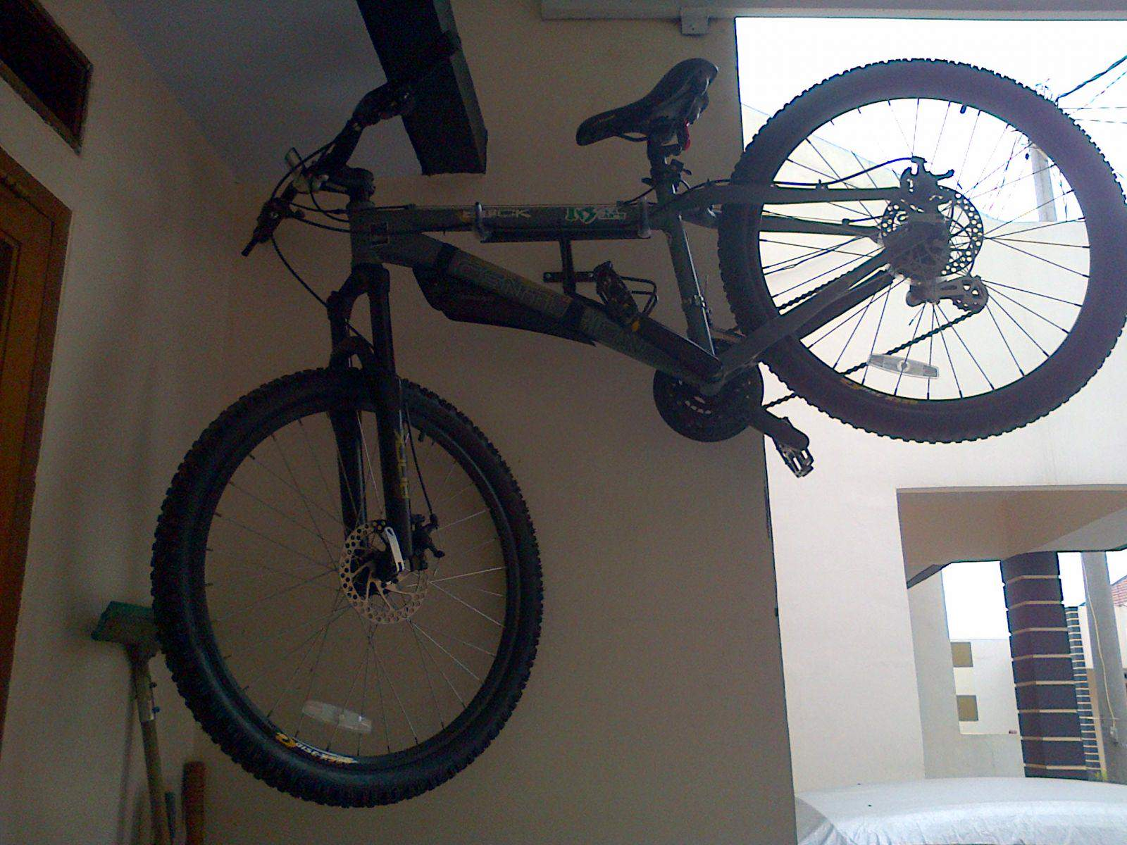 Creative Bike Wall Hanger Horizontal Ideas