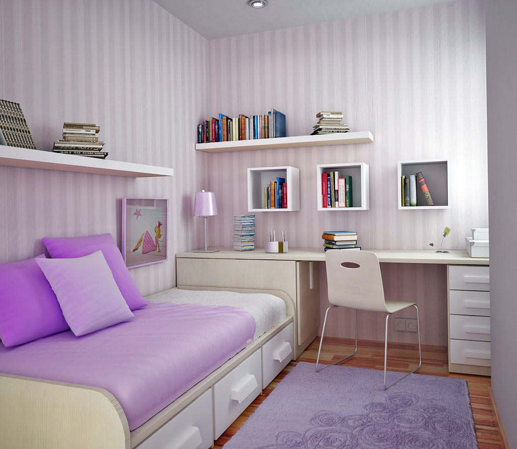 Cute Bedrooms For Girls In Low Budget (Image 2 of 10)