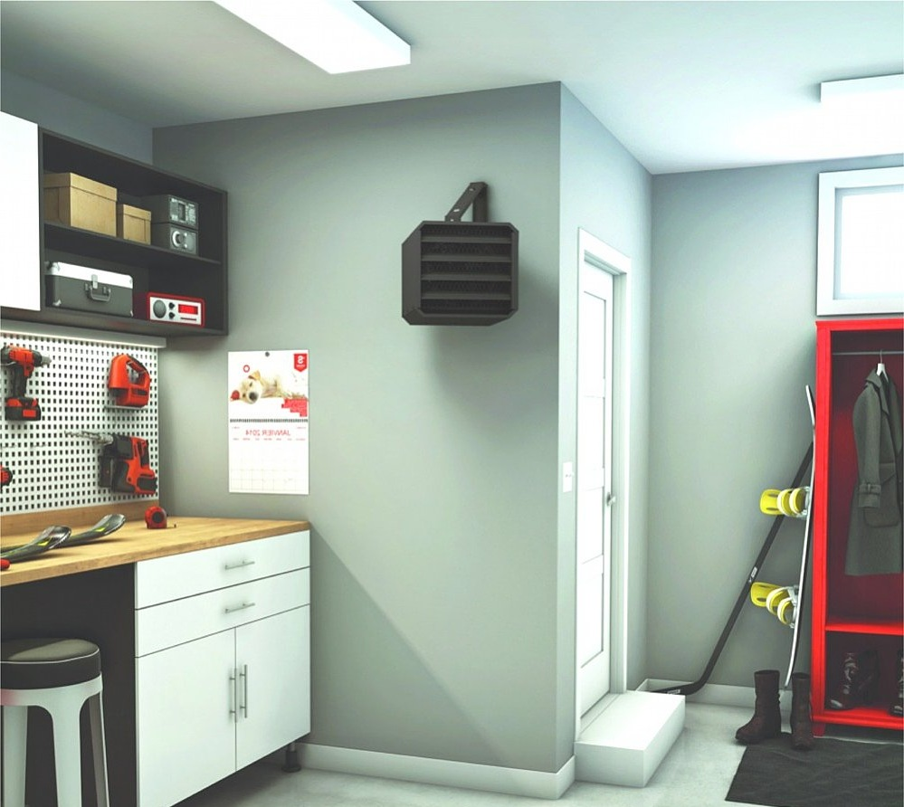 Electric Heater Garage Installation (View 3 of 5)