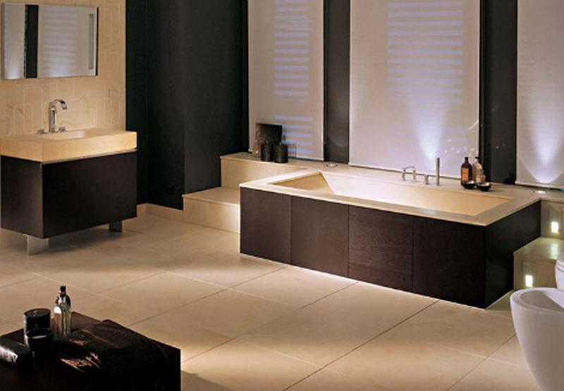 Elegant And Classic Bathroom Designs