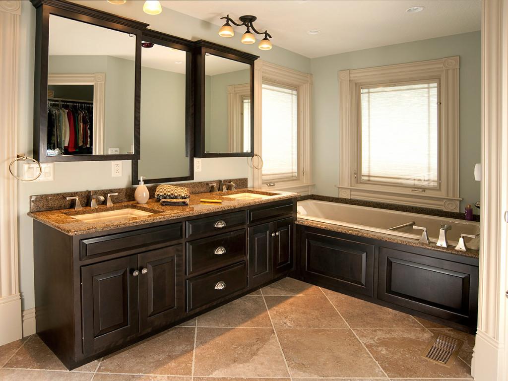 Custom bathroom vanities designs - Elegant Bathroom Vanity Furniture Design Image 7 Of 17