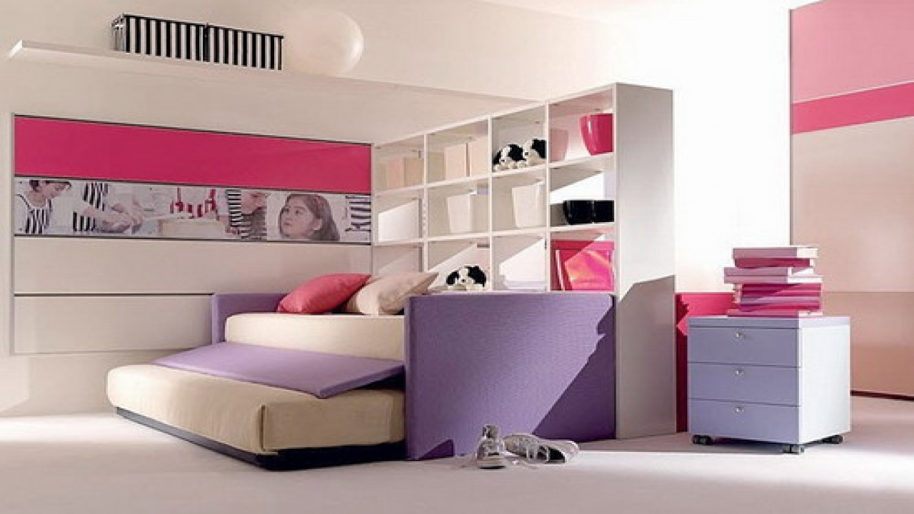 Elegant Bedroom Children Minimalist 2014