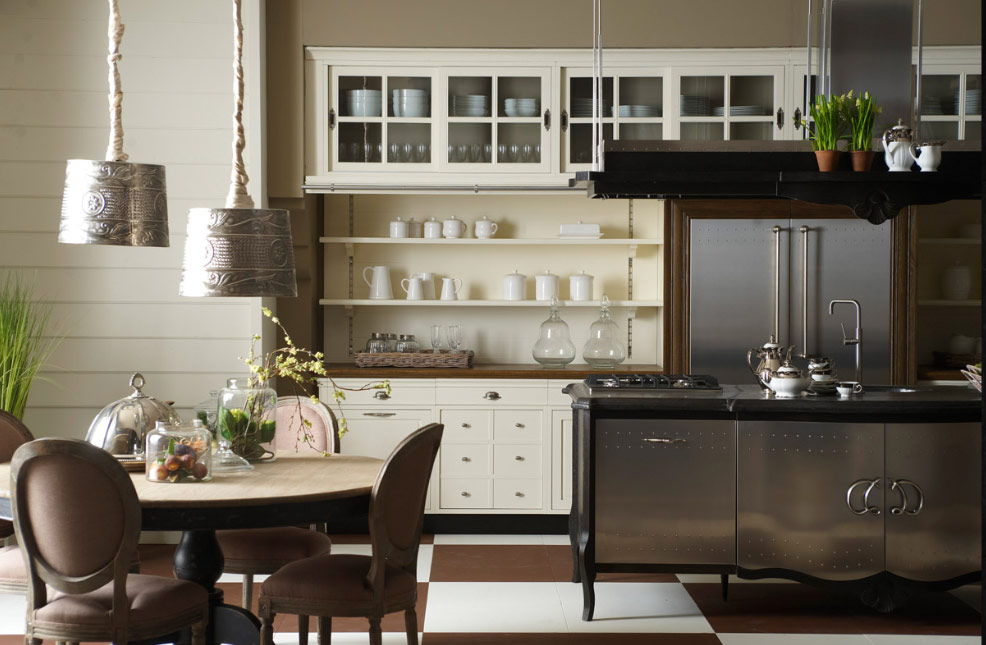 Elegant French Country Kitchen Chairs (View 5 of 11)