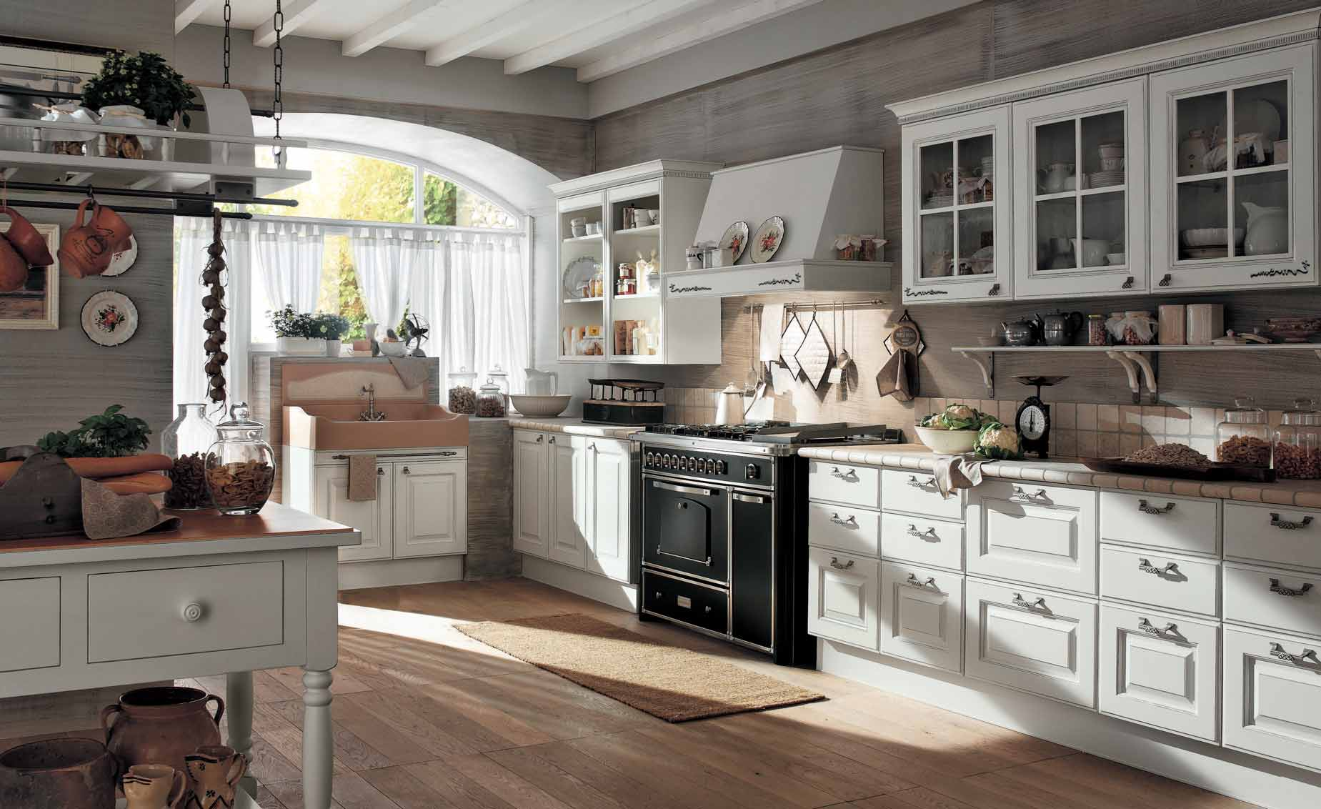 Enchanting Classical Kitchen (Image 5 of 10)
