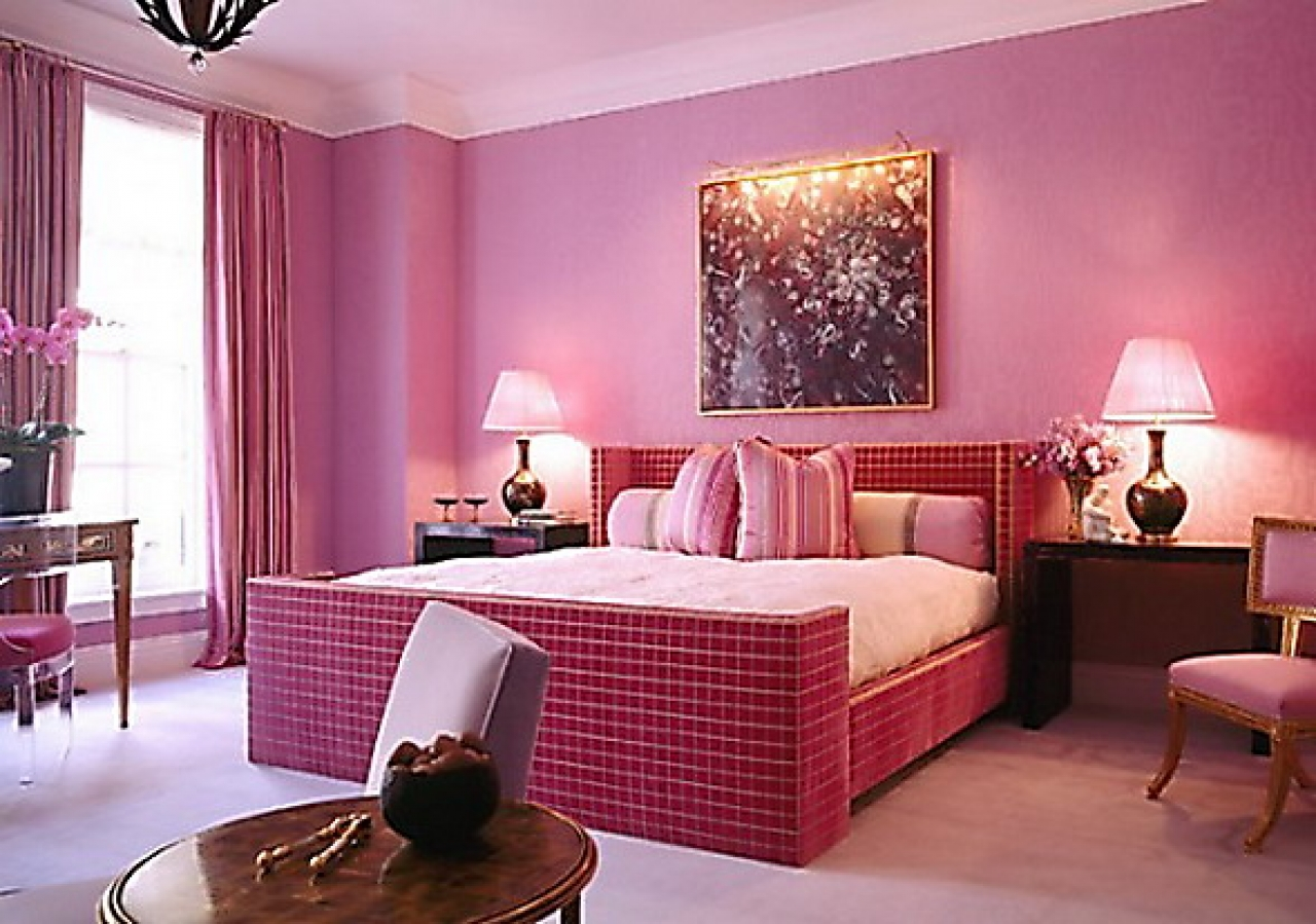 Enchanting Pink Color Scheme Ideas (View 7 of 10)