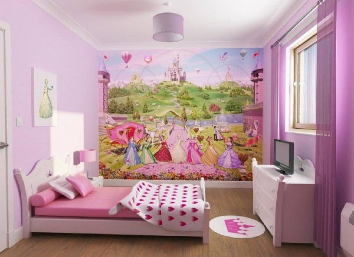 Fairy Land Wallpaper Bedroom Design (View 3 of 10)