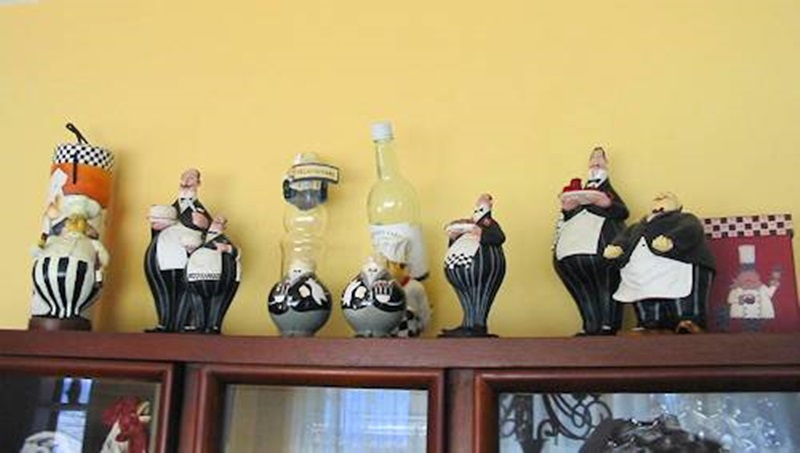 Fat Chef Decor In The Kitchen (Photo 5 Of 11)