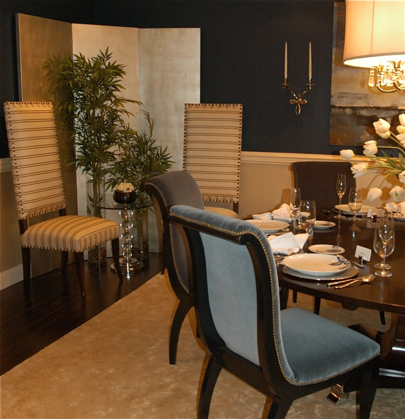 Formal Dining Room Table And Chairs (Image 4 of 10)