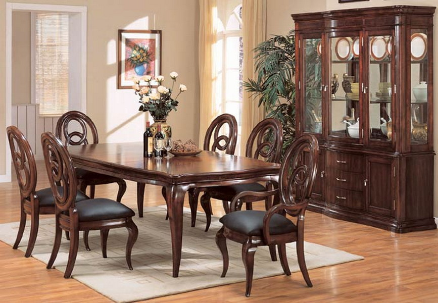 Formal Dining Table (Image 6 of 10)