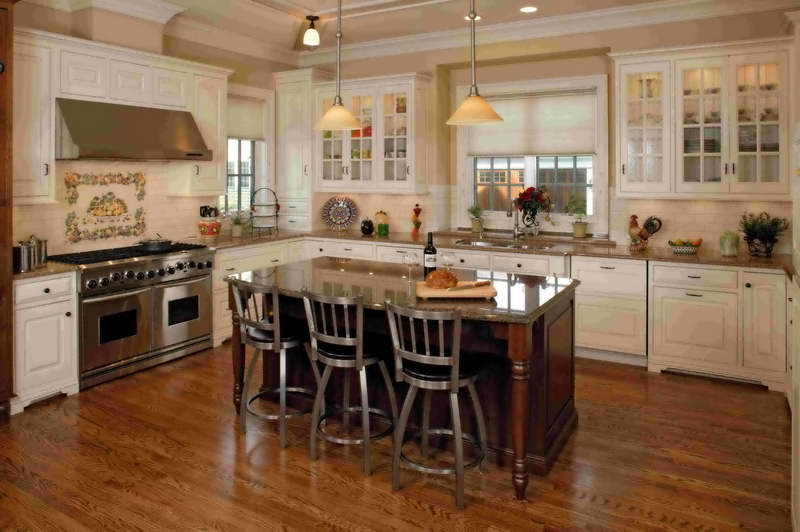 French Country Kitchen Chairs (View 3 of 11)