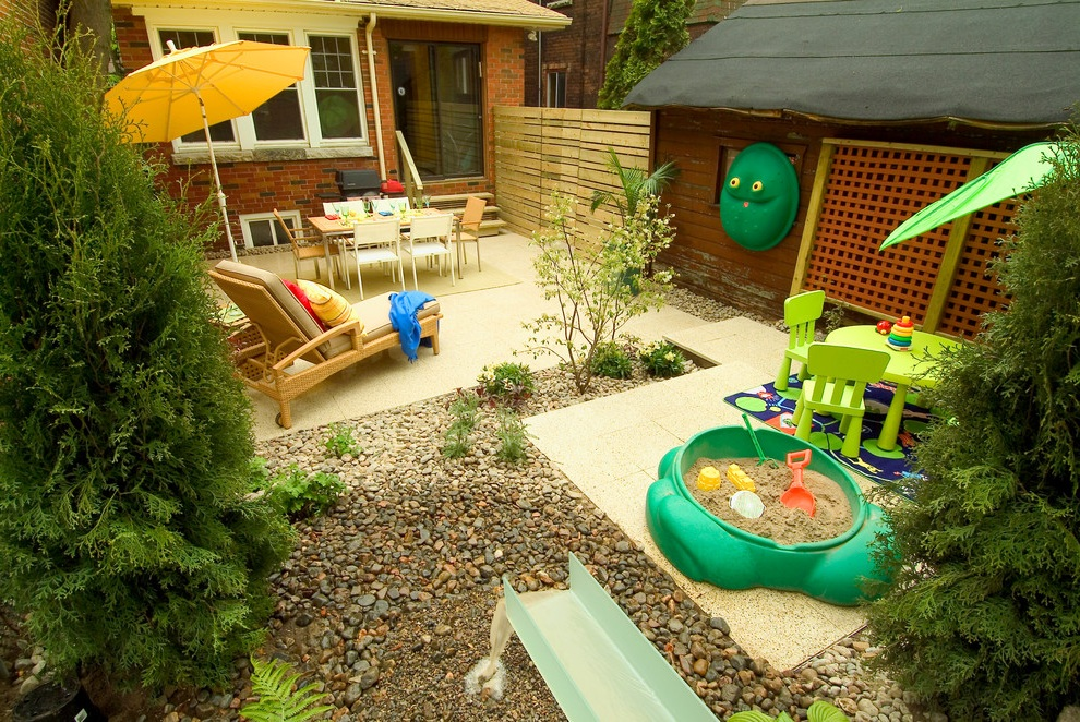 Fun Backyard Design for Kids