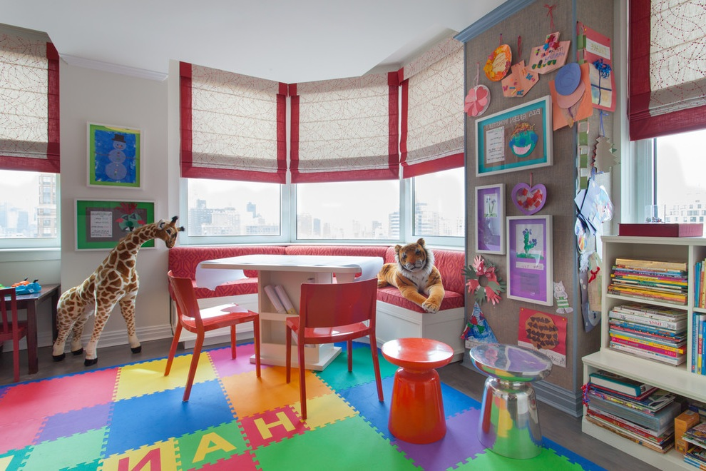 Fun Kids Playroom Interior Decor