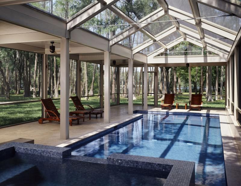 Green Classy Architecture Designs