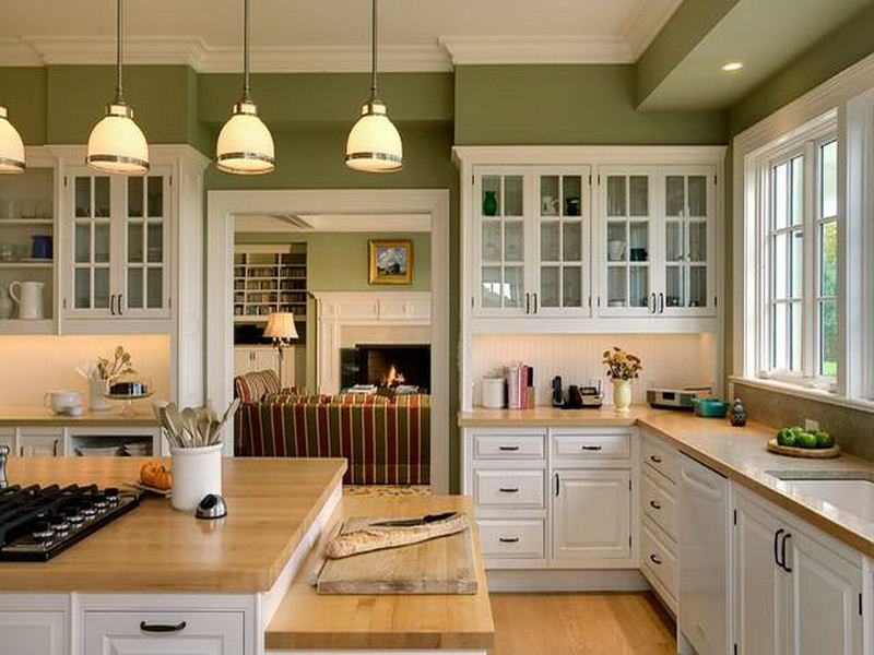 Green Kitchen Paint Recommended (View 2 of 10)