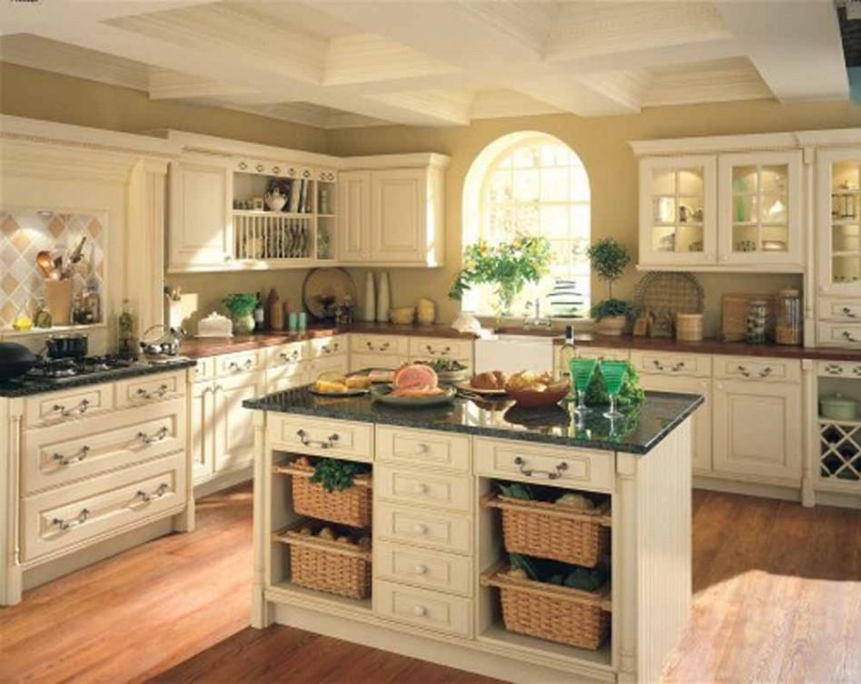 Green Marble Victorian Kitchen Decoration
