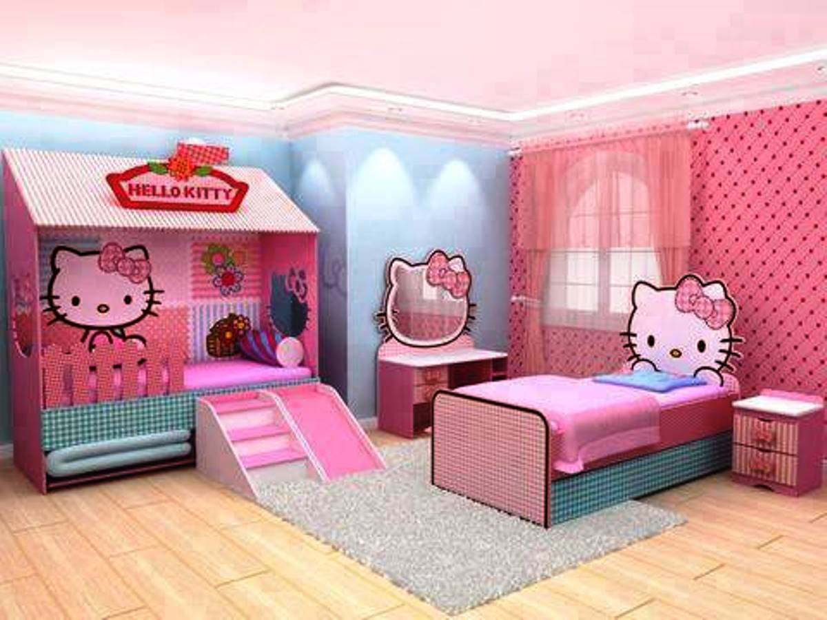 Hello Kitty Bedroom Decor (View 5 of 10)