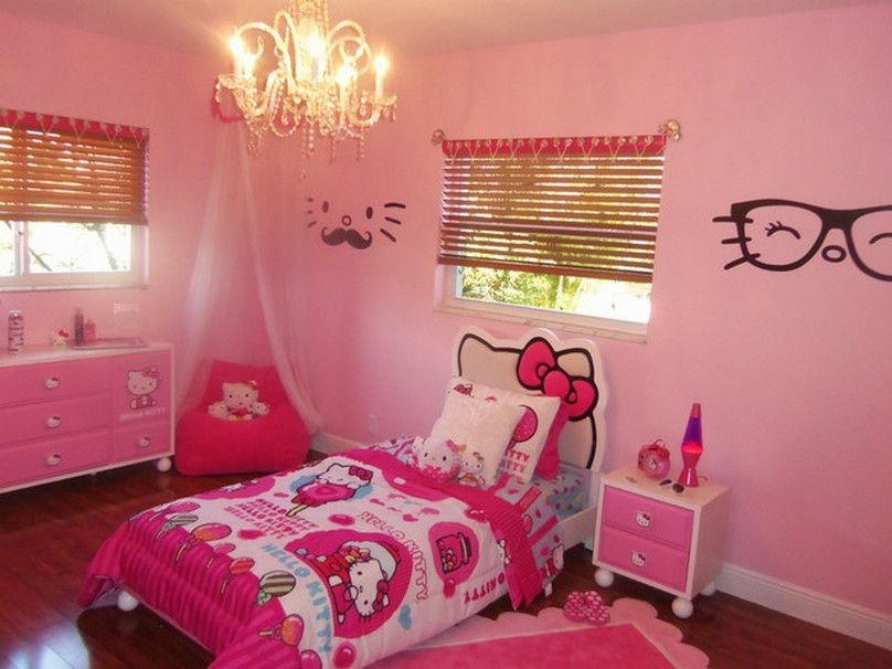 Hello Kitty Bedroom Paint Ideas (View 7 of 10)