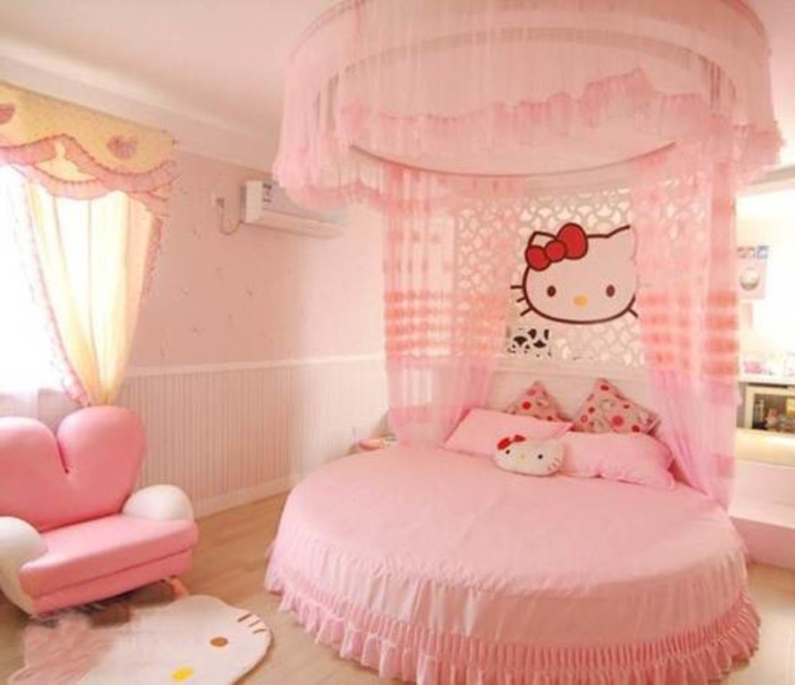Hello Kitty Girls Room Design (View 8 of 10)