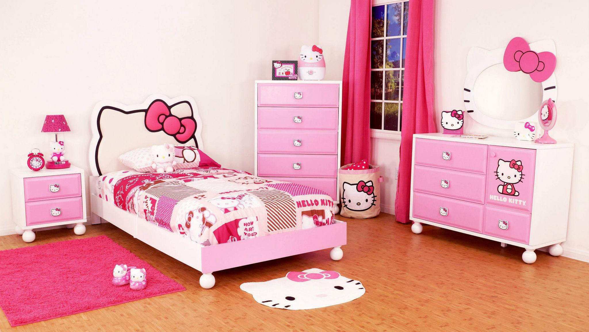 Hello Kitty Girls Room Designs (View 9 of 10)